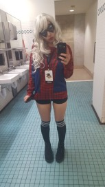 Because I had to wear pants to the con