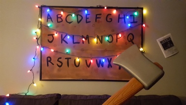 20171026_231057 - Stranger Things Christmas Decorations