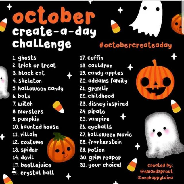 OctoberCreateADay