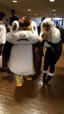 I've ran into this adorable Porg before. Such a cute idea and great craftmanship!